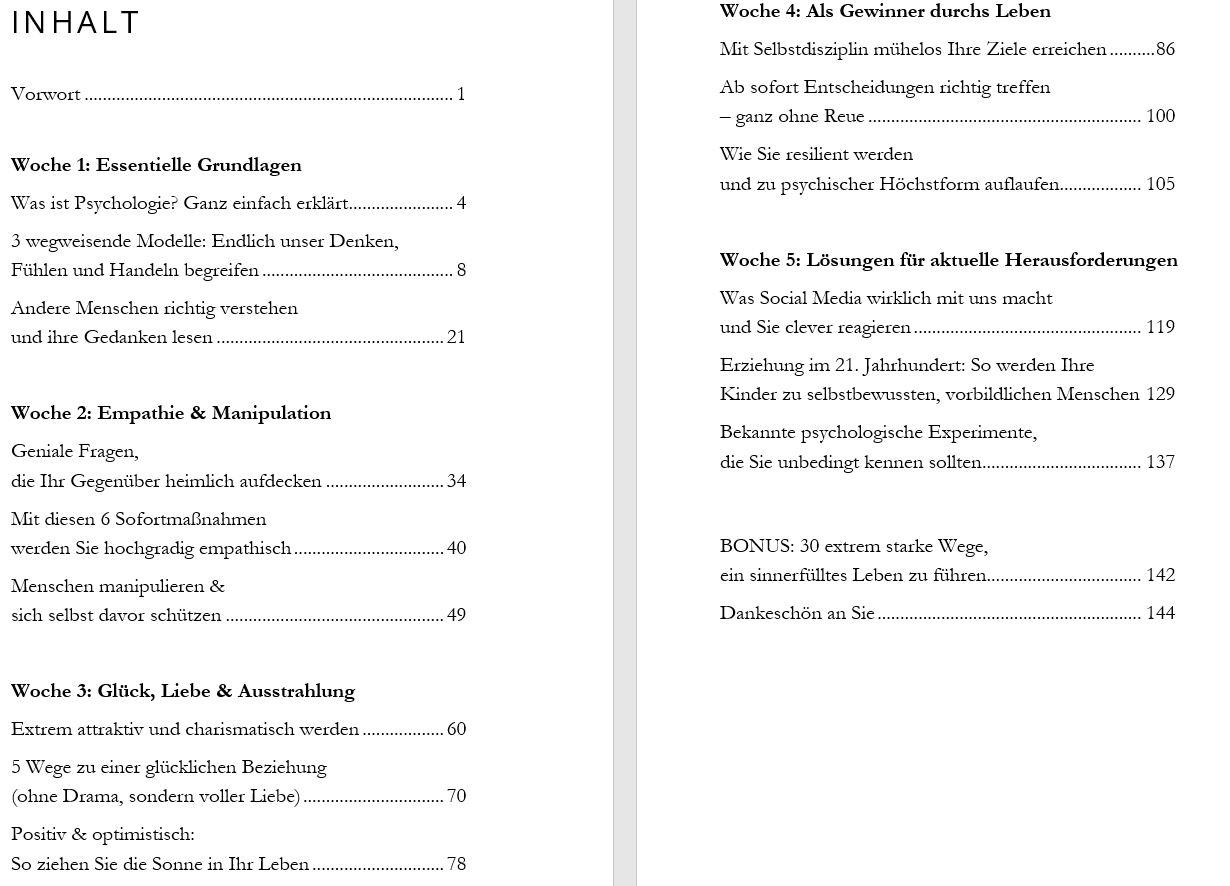 Psychologie für Anfänger Buch
