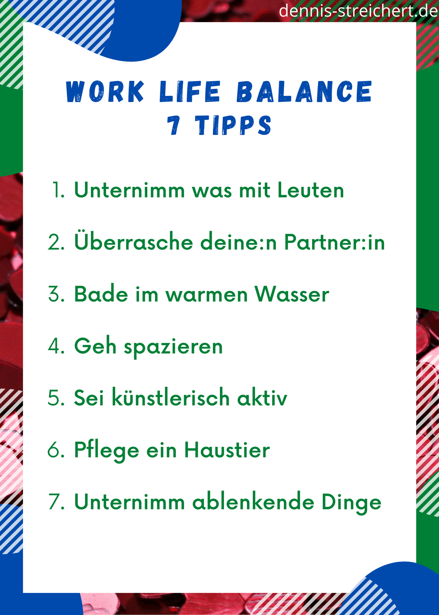 Work Life Balance Maßnahmen Tipps